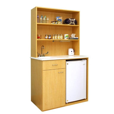 Food Prep Hutch for child care Center or Pre-Schools. Complements Diaper Changing Tables from The Hatteras Collection